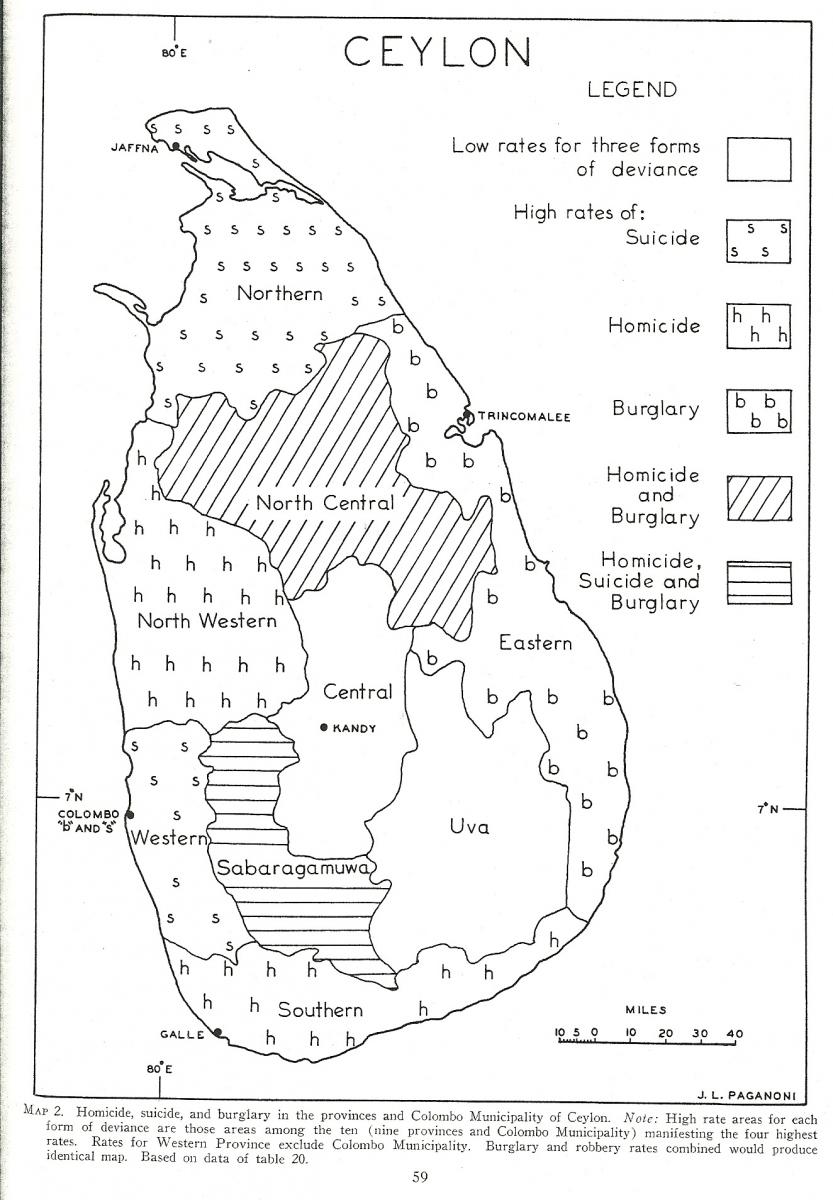 Worksheet. Homicide Suicide and Crime in Sri Lanka formerly Ceylon