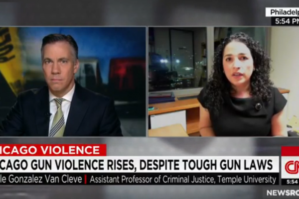 Dr. Nicole Gonzalez Van Cleve Featured on CNN